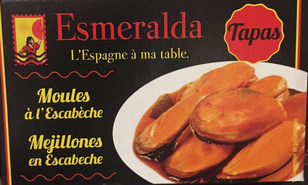Moules à l'escabèche, Esmeralda (111 g)