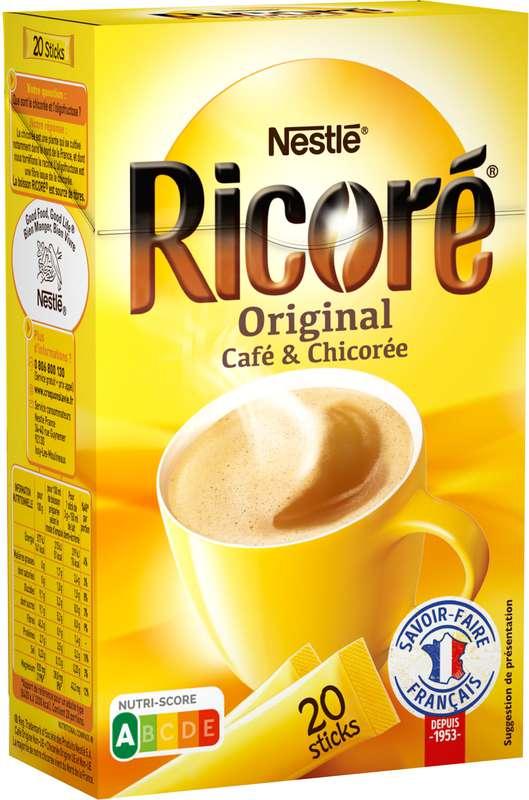 Café chicorée original, Ricoré (20 x 3 g)