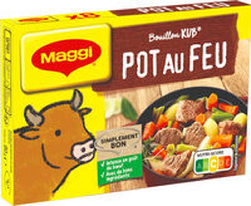 Bouillon pot-au-feu en cubes, Maggi (x 8, 80 g)