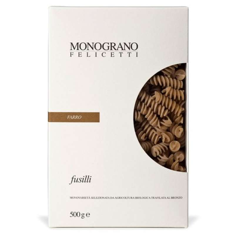Fusilli BIO - Farro, Felicetti (500 g)