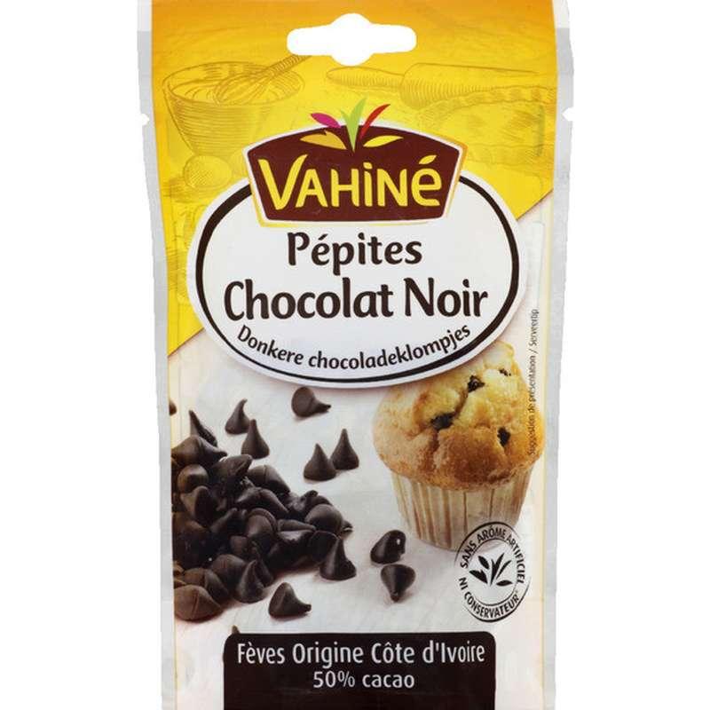 Pépites de chocolat noir, Vahiné (100 g)
