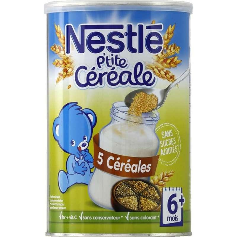 P'tite céréale aux 5 céréales - dès 6 mois, Nestlé (400 g)