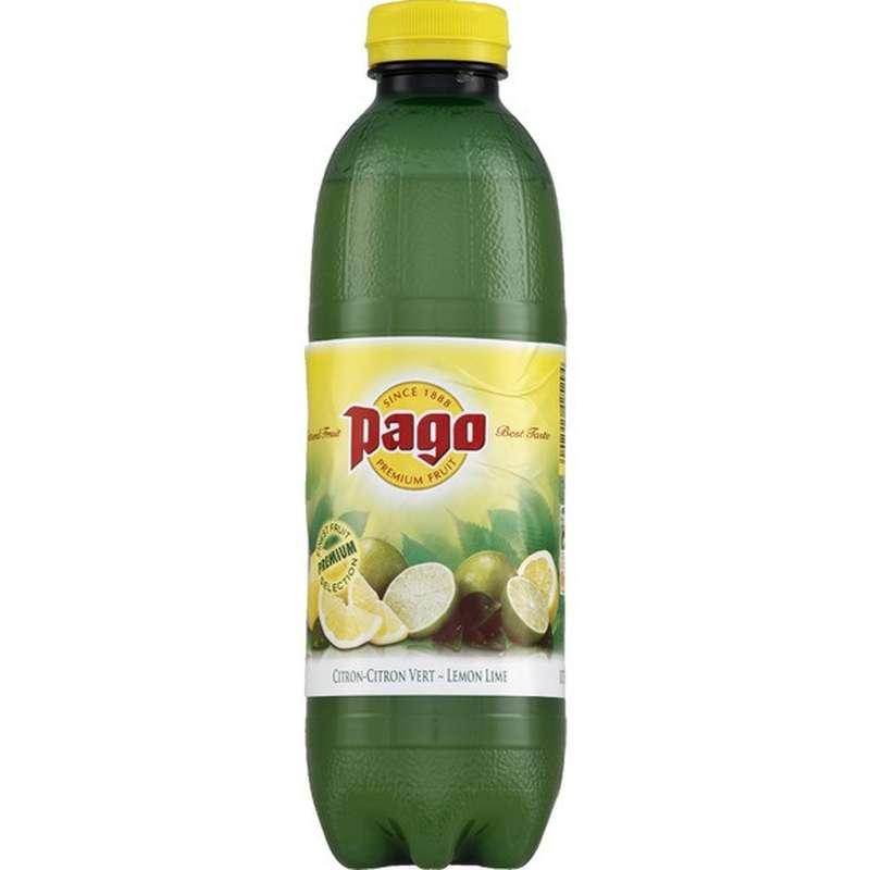 Jus de citron et citron vert, Pago (75 cl)