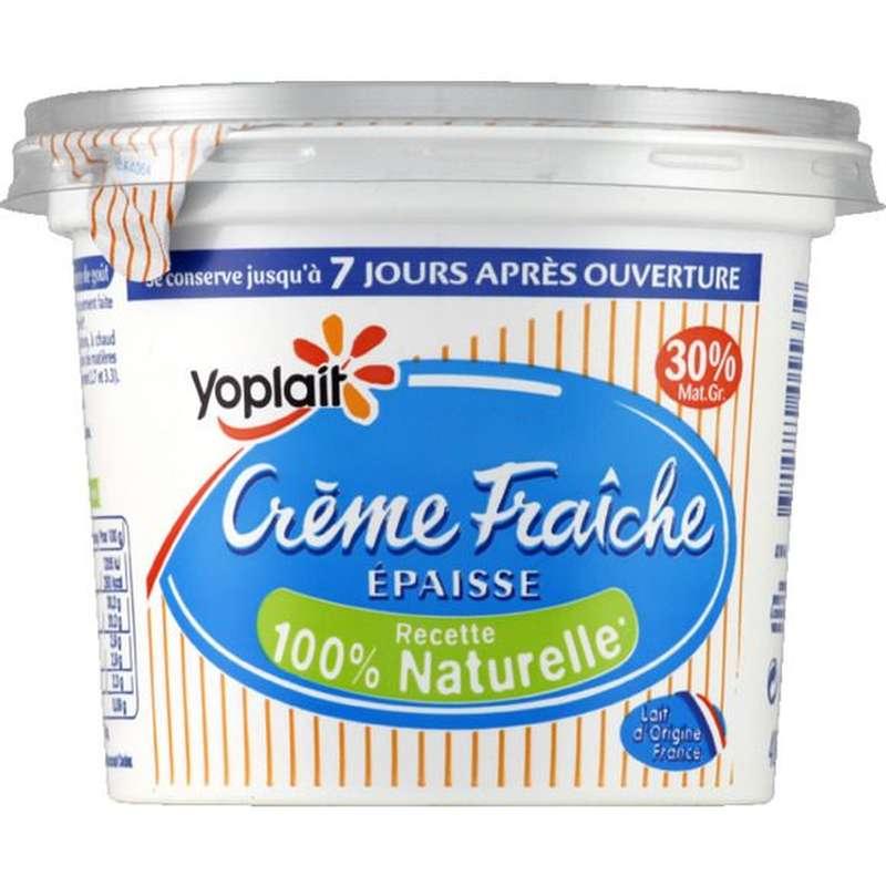 Crème fraiche épaisse 30% MG, Yoplait (450 g)