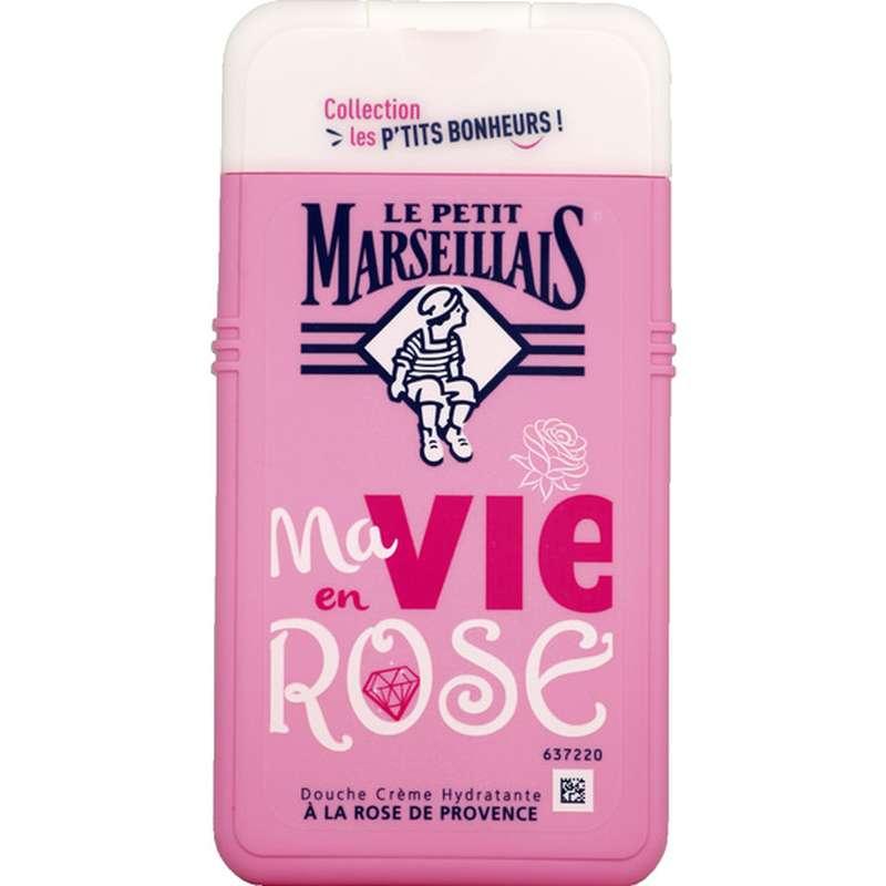 Gel douche crème hydratante à la rose de Provence, Le Petit Marseillais (250 ml)