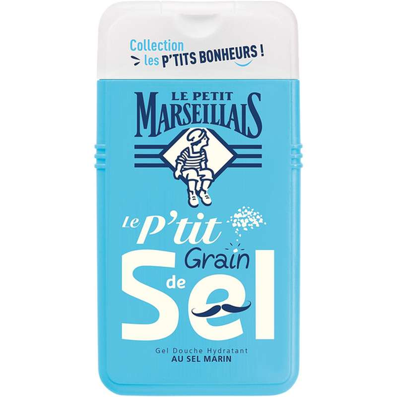 Gel douche au sel marin hydratant, Le Petit Marseillais (250 ml)