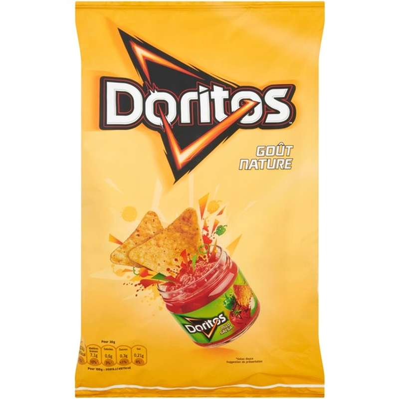Tortilla nature, Doritos (170 g)