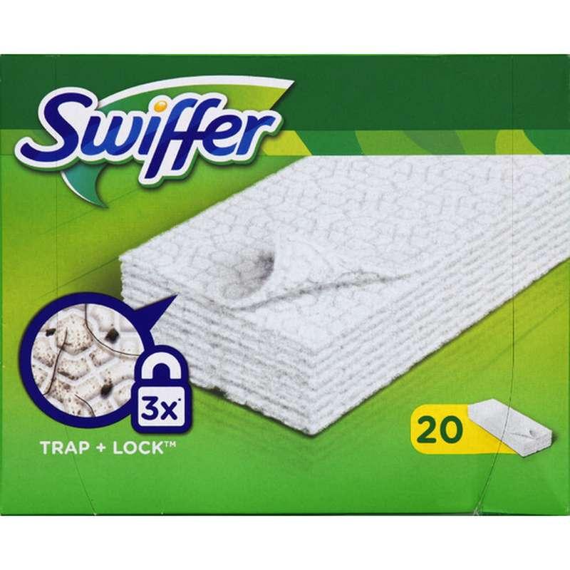 Lingettes Dry Swiffer / recharge (x 20), Swiffer
