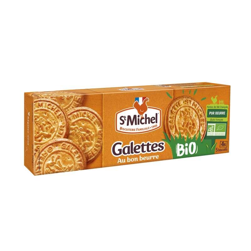 Galettes au bon beurre BIO, St Michel (130 g)