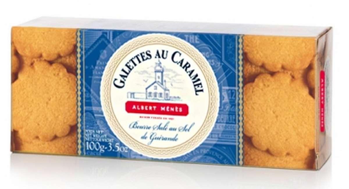 Galettes au caramel, Albert Ménès (100 g)
