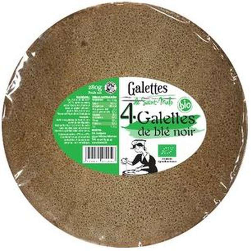 Galettes de blé noir BIO, Galettes de Saint Malo (x 4, 280 g)