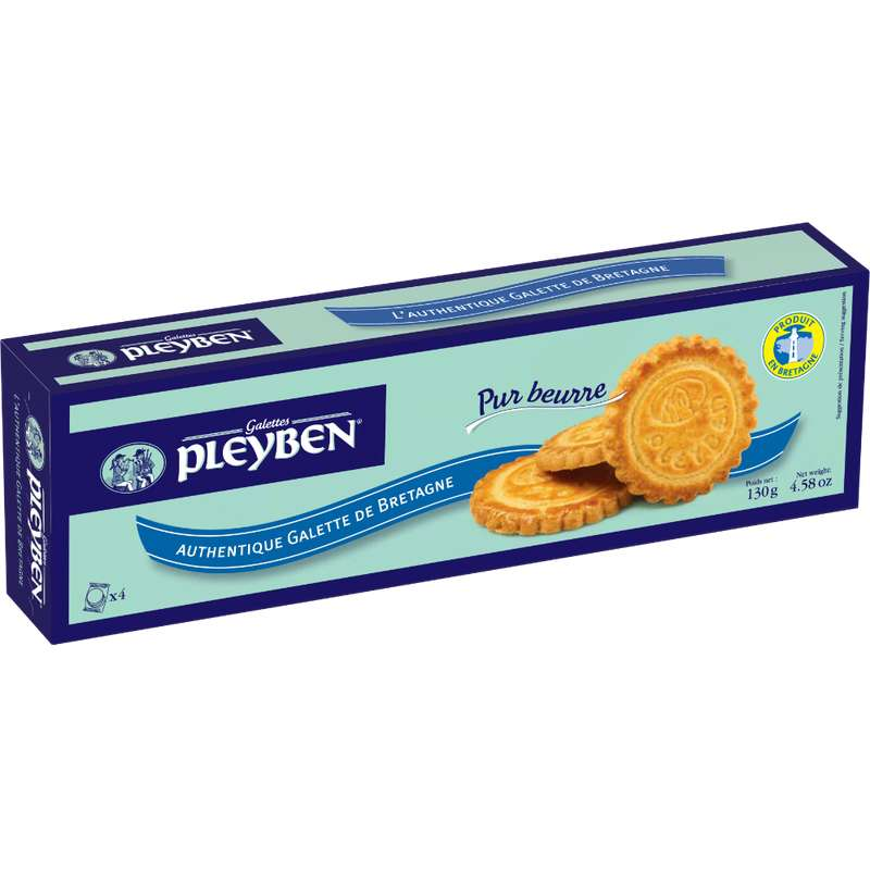 Galettes bretonnes pur beurre, Pleyben (130 g)