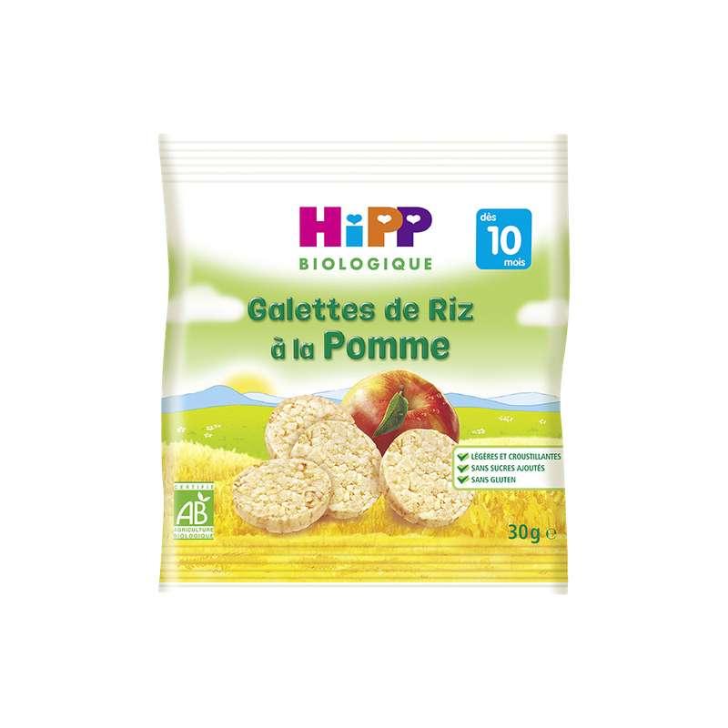 Galettes de riz à la pomme BIO - dès 10 mois, Hipp (30 g)