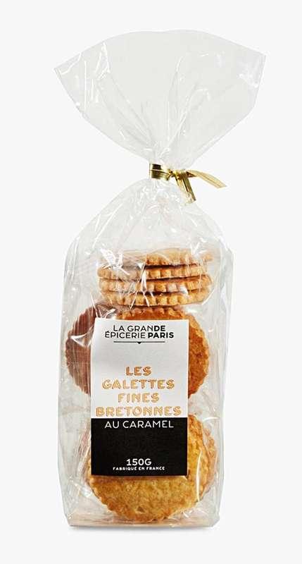 Galettes fines bretonnes au caramel, La Grande Epicerie de Paris (150 g)