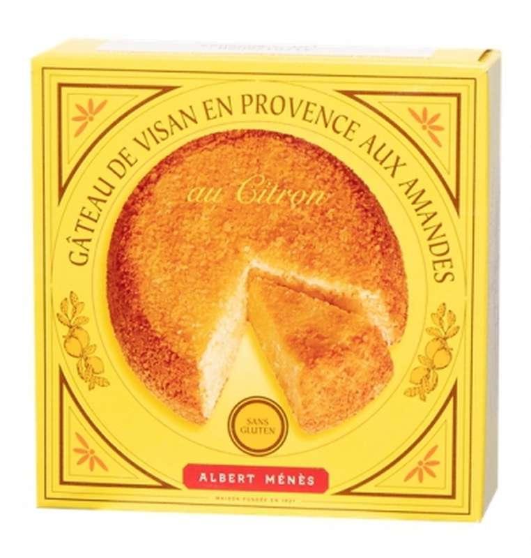 Gâteau de Visan en Provence aux amandes au citron, Albert Ménès (120 g)