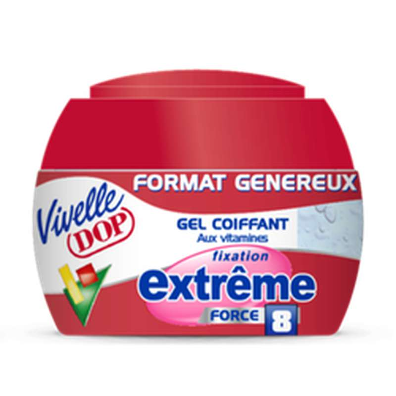 Gel coiffant fixation Extrême, Vivelle Dop (200 ml)