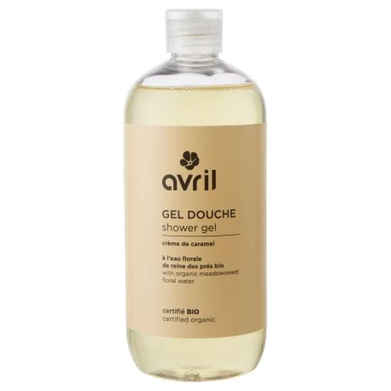 Gel douche crème de caramel certifié BIO, Avril (500 ml)