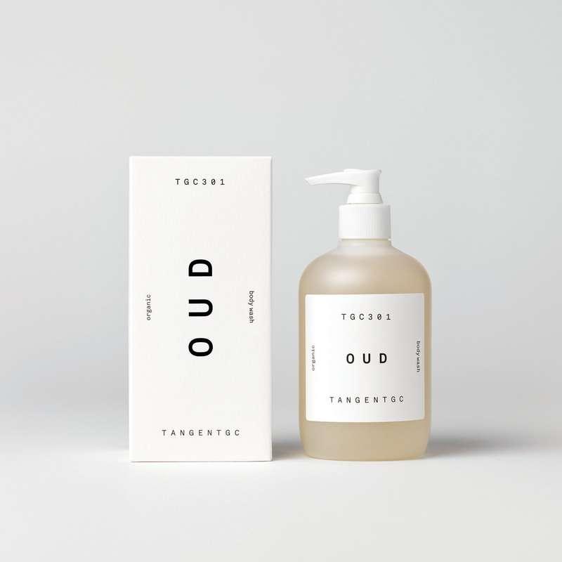 Gel douche parfum Oud, Tangent GC (350 ml)