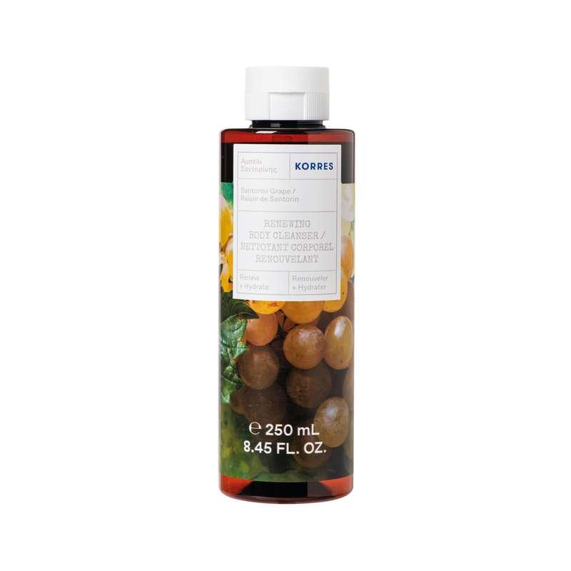 Gel douche Vignes de Santorin, Korres (250 ml)