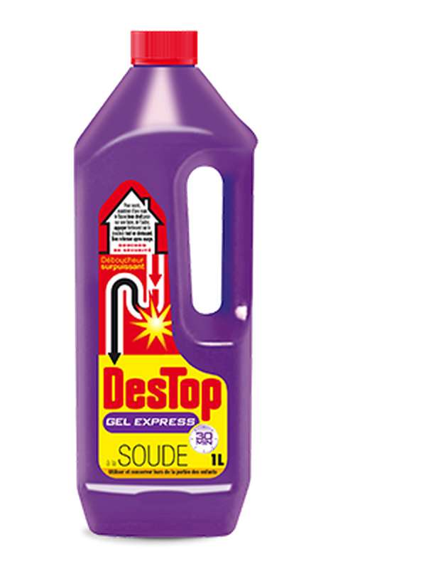 Gel nettoyant déboucheur express, Destop (1 L)