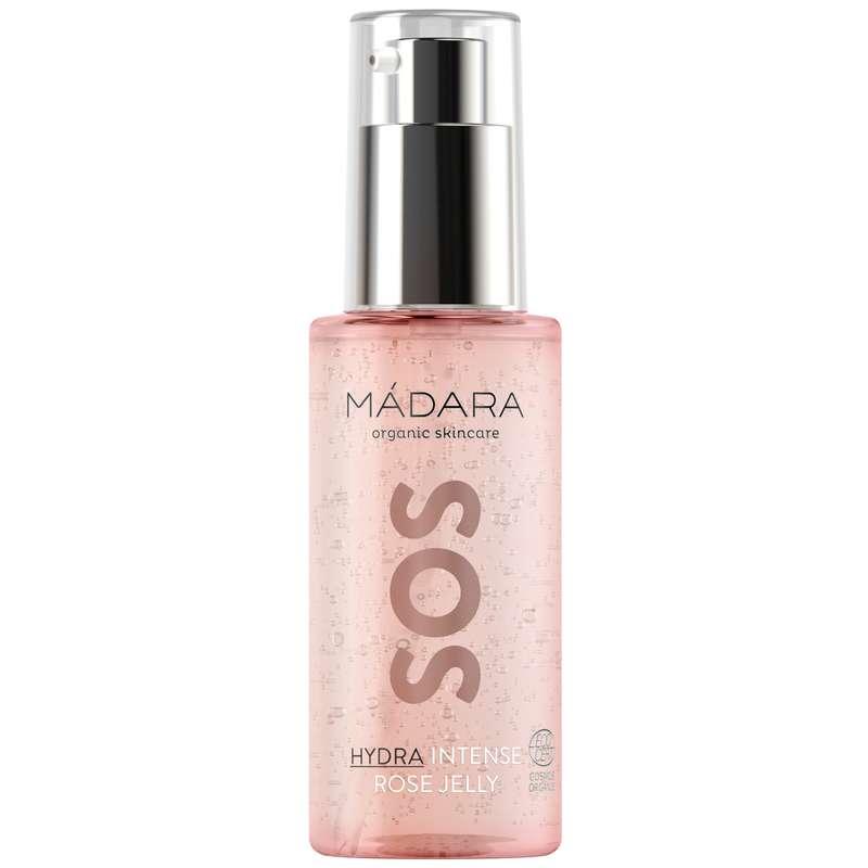 Gel intense à la rose SOS Hydra BIO, Madara (75 ml)