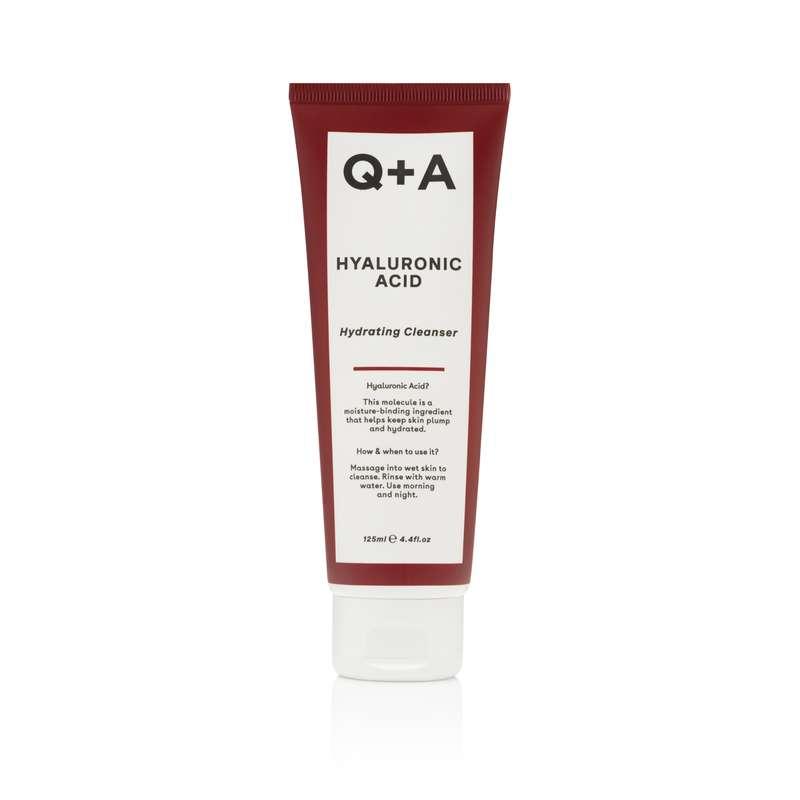 Gel nettoyant à l'acide hyaluronique, Q+A (125 ml)
