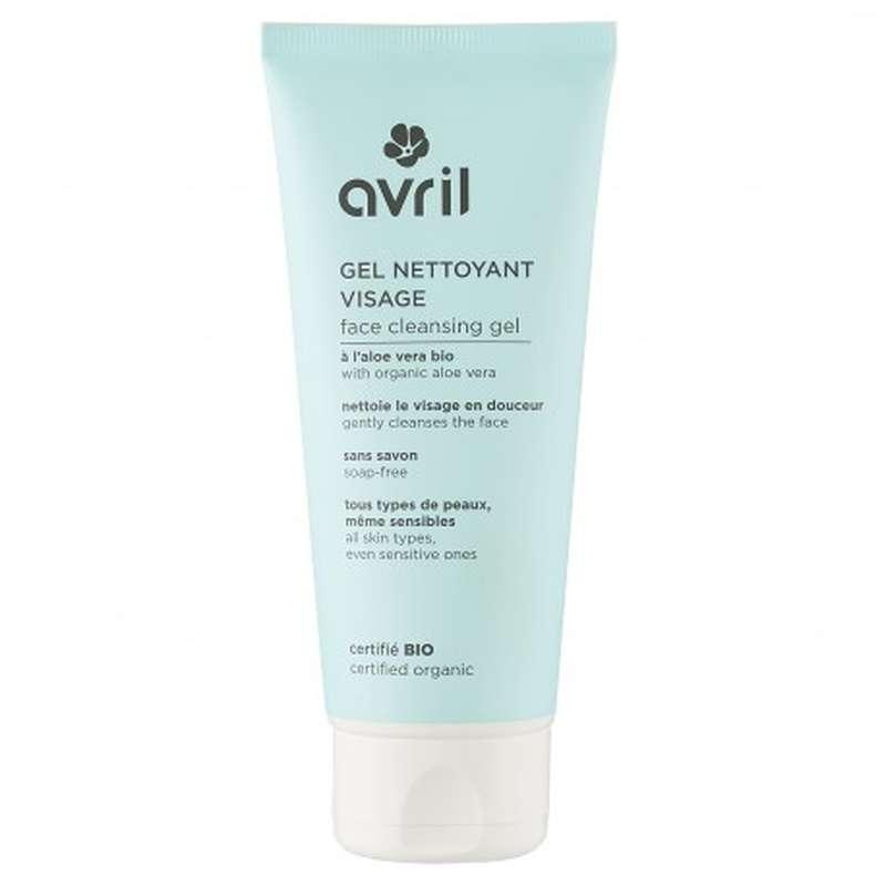 Gel nettoyant visage certifié BIO, Avril (100 ml)