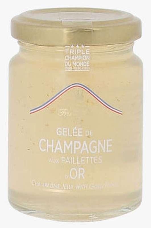 Gelée de champagne aux paillettes d'or, Francis Miot (100 g)