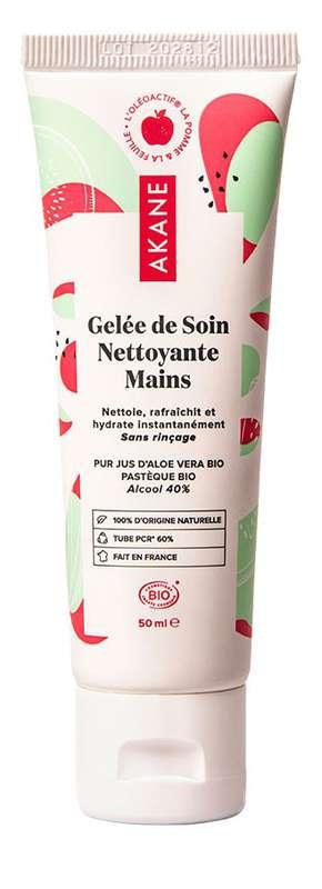 Gelée de soin nettoyante mains BIO, Akane (50 ml)