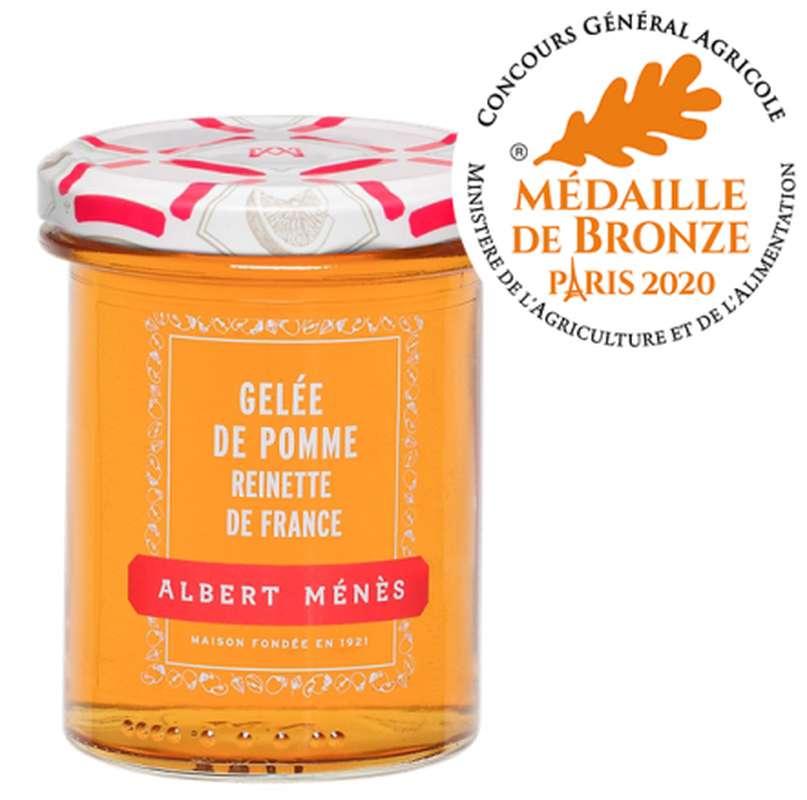 Gelée Extra de Pomme Reinette de France, Albert Ménès (280 g)