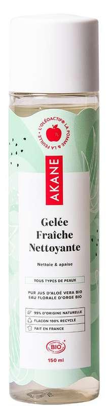 Gelée fraîche nettoyante BIO, Akane (150 ml)