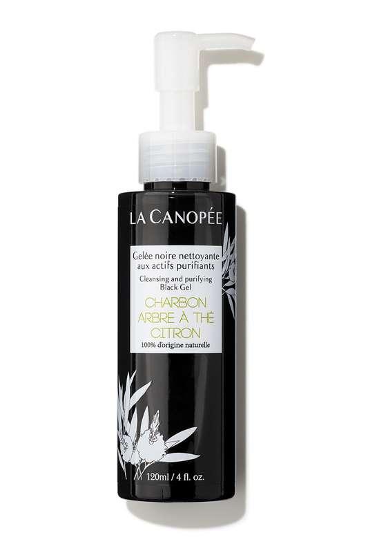 Gelée noire nettoyante aux actifs purifiants, La Canopée (120 ml)