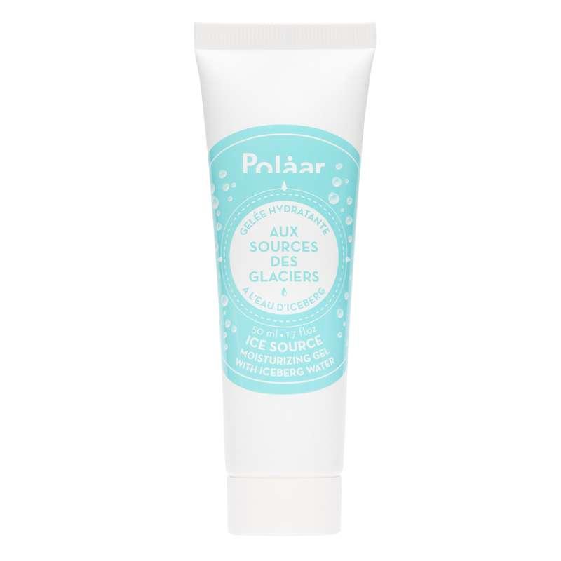 Gelée visage hydratante Aux Sources des Glaciers à l'eau d'iceberg, Polaar (50 ml)