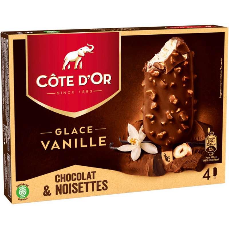 Glace Vanille et Lait Noisette, Côte D'Or (260 g)