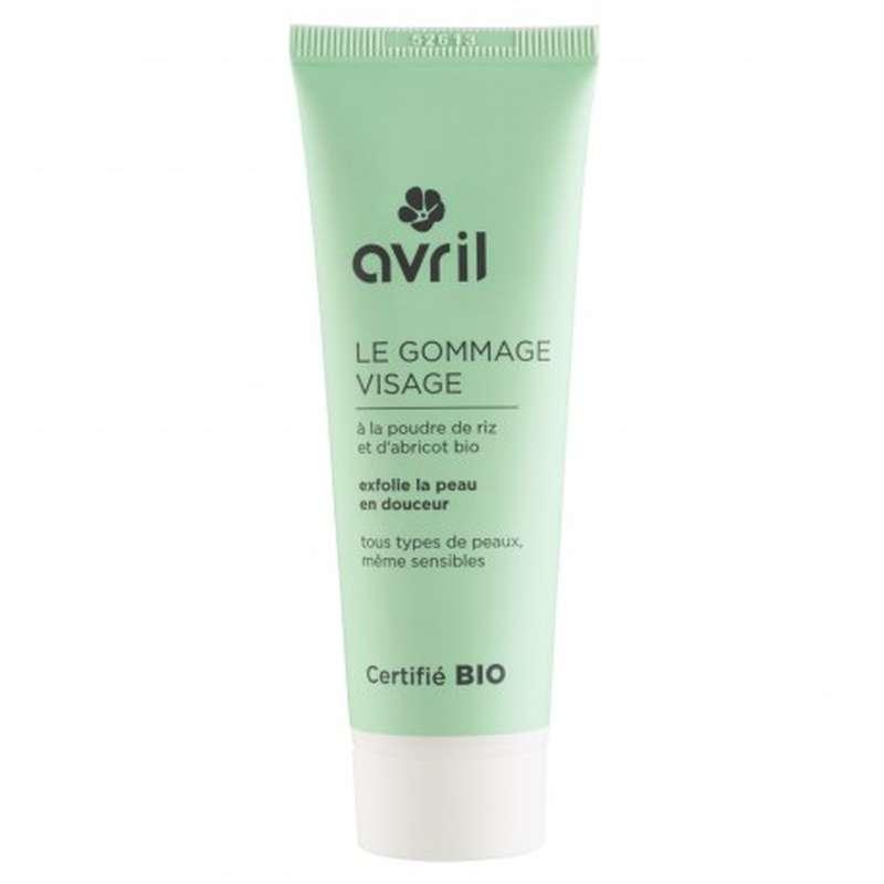 Gommage visage certifié BIO, Avril (50 ml)