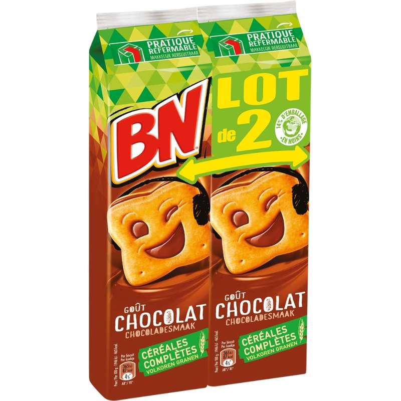 BN au chocolat (2 x 295 g)