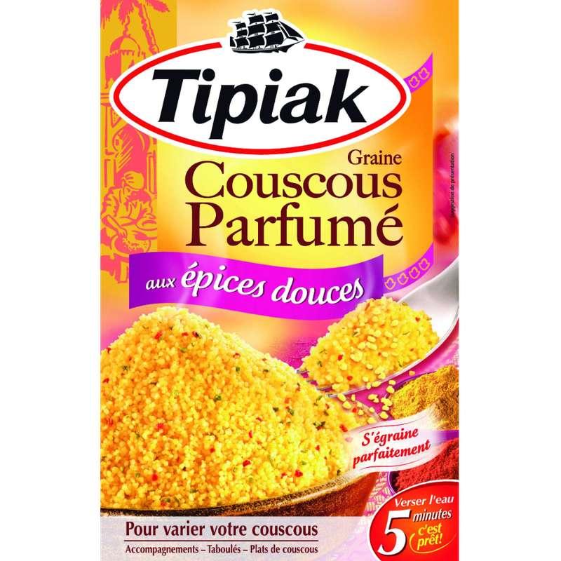 Graine de couscous aux épices douces, Tipiak (2 x 250 g)