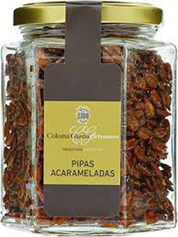 Graines de tournesol caramélisées, Coloma Garcia (160 g)