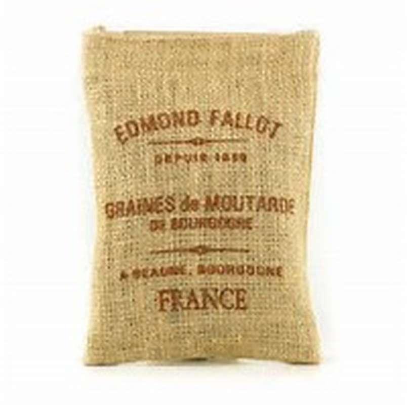 Graines de moutarde de Bourgogne, Fallot (250 g)