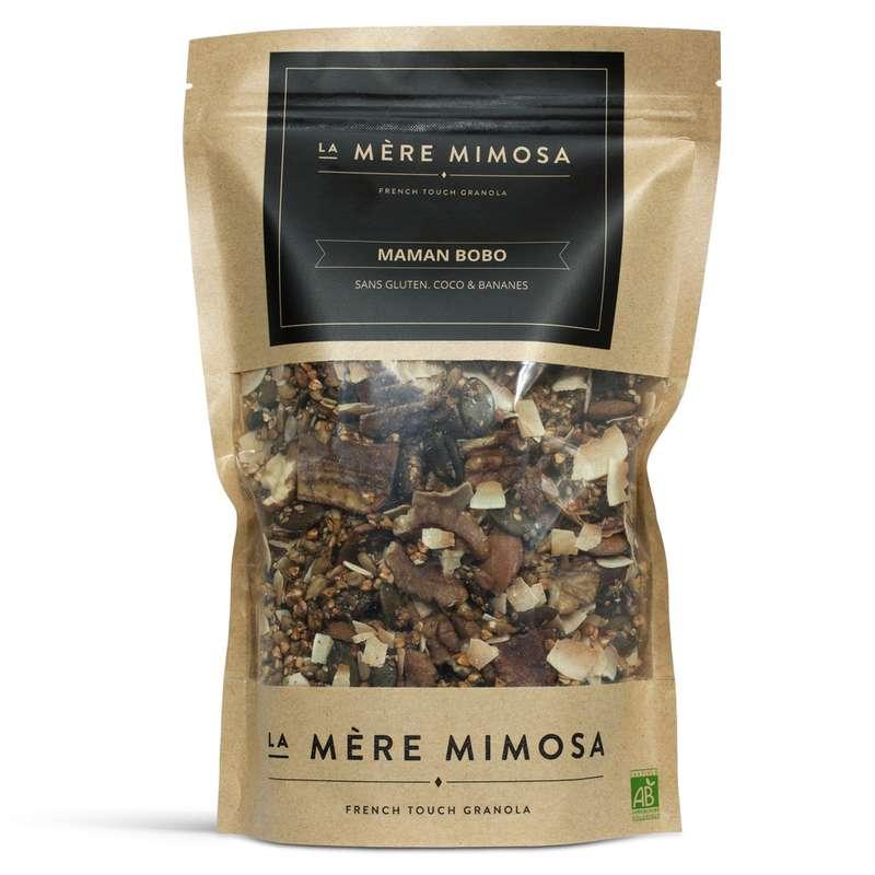 "Granola artisanal ""Maman Bobo"", La Mère Mimosa (350 g)"