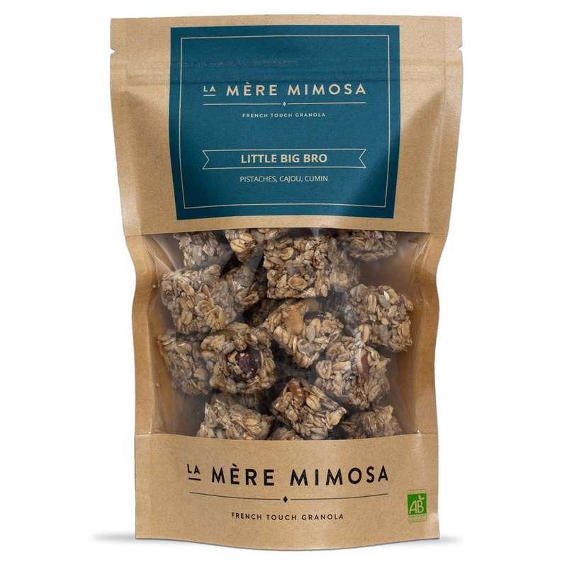 """Granola artisanal salé """"Little Big Bro"""" BIO, La Mère Mimosa (250 g)"""