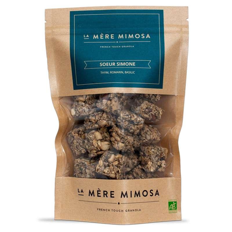 "Granola artisanal salé ""Soeur Simone"" BIO, La Mère Mimosa (250 g)"