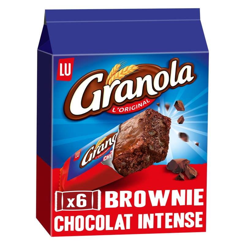 Granola brownie chocolat intense, Lu (180 g)