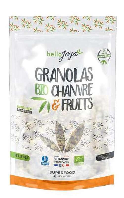Granola de chanvre et fruits BIO, Hello Joya (300 g)