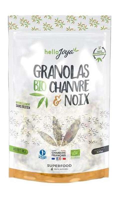 Granola de chanvre et noix BIO, Hello Joya (300 g)