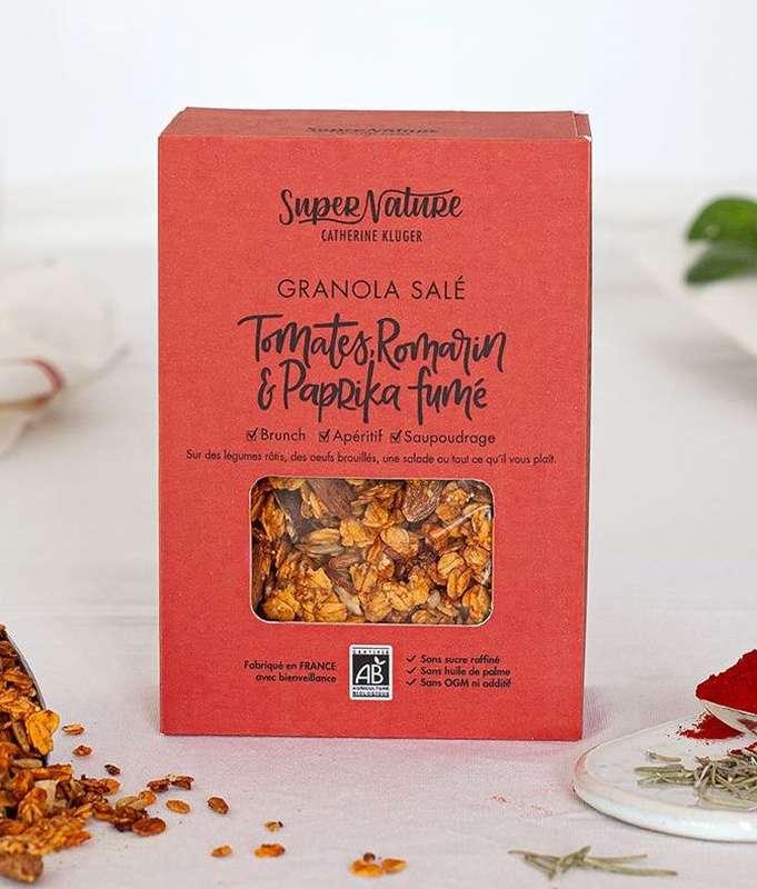 Granola salé à la tomate BIO, SuperNature (160 g)