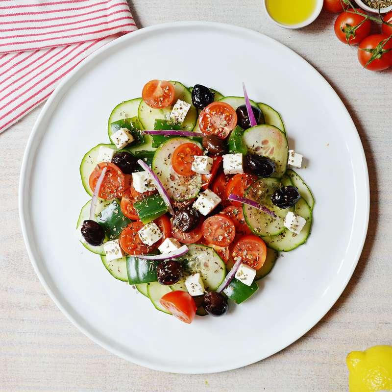 Saladier de salade Grecque / à commander 48h à l'avance