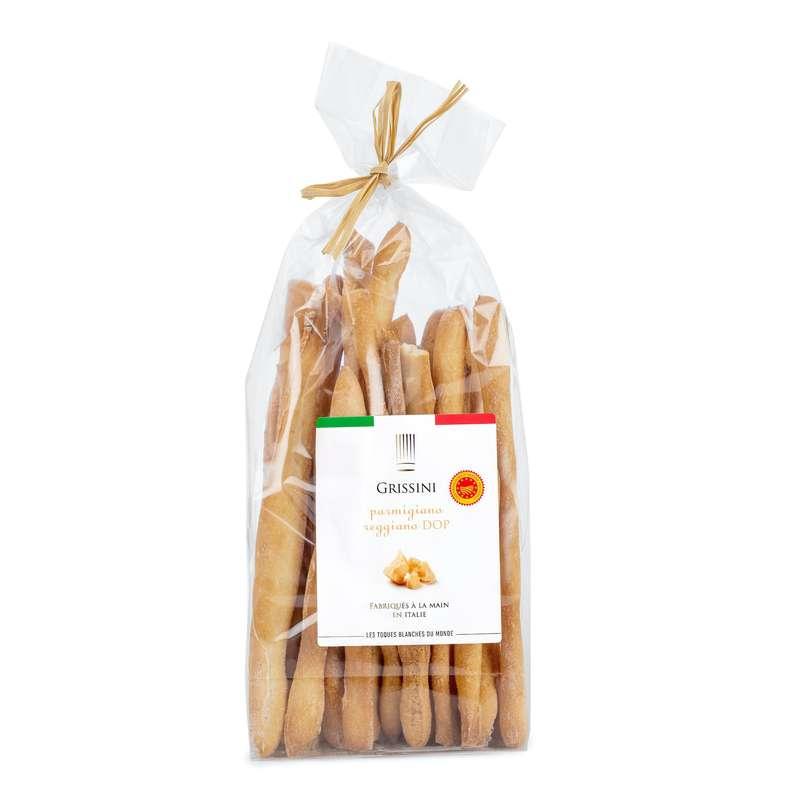 Gressins au Parmigiano Reggiano AOP, Les Toques Blanches du Monde (200 g)