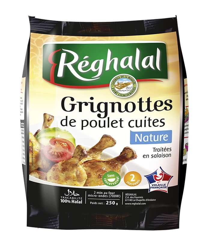 Grignottes de poulet Halal, Reghalal (250 g)