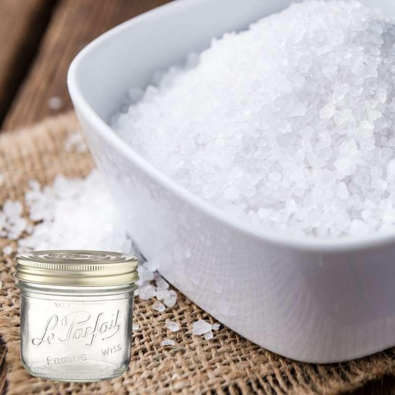 Gros sel de Guérande BIO bocal consigné / 2,5€ récupérable (1 kg)